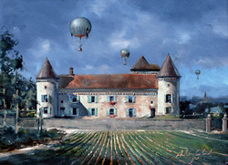 Gas ballons and Chateau