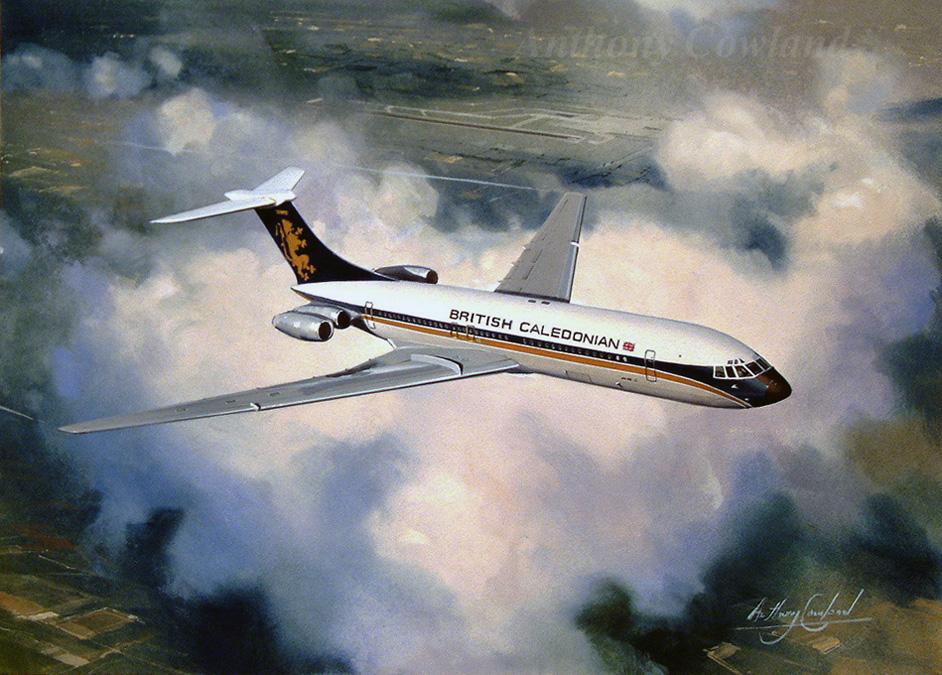 Vickers VC10 British Caledonian