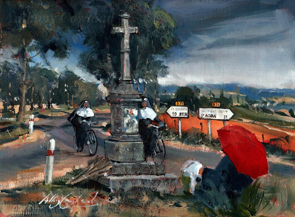 Wayside cross. France
