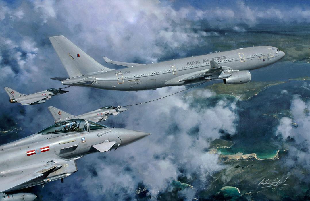 RAF Voyager. Aerial refuelling