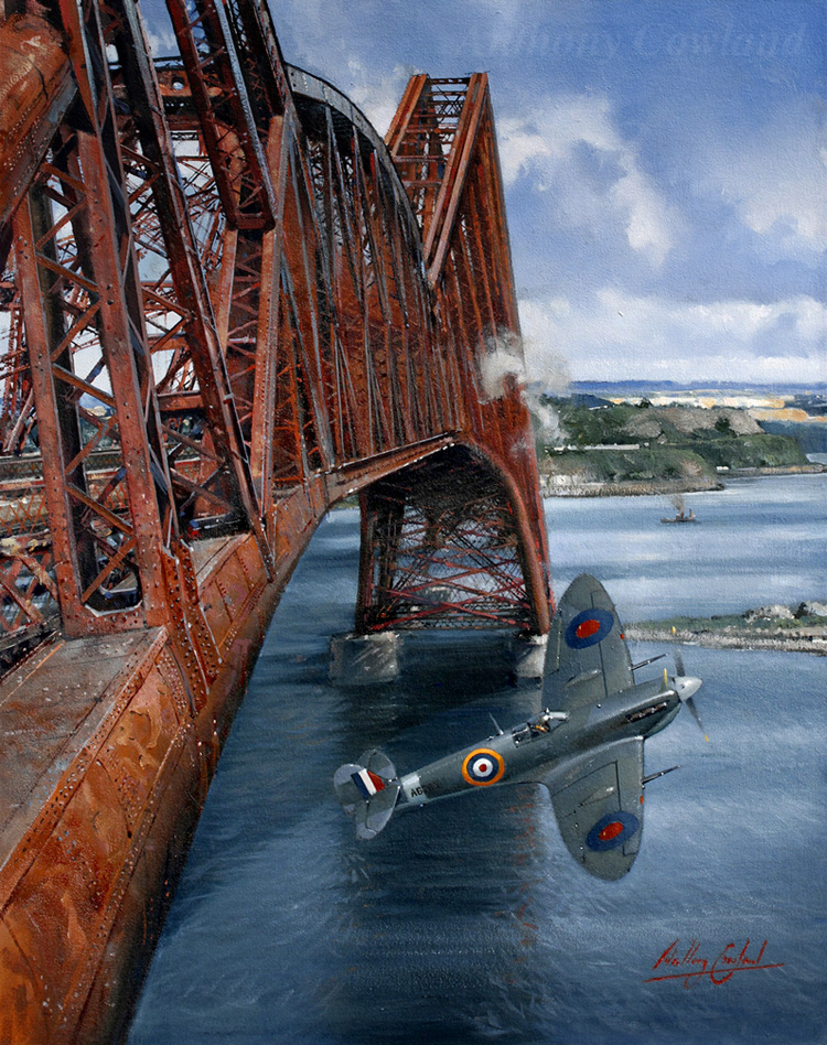 Seafire under Forth rail bridge