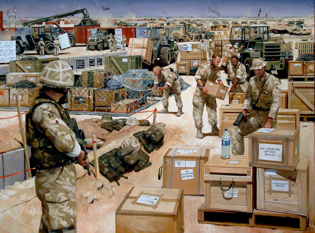 6 Supply Regt Op.TELIC. Kuwait