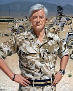 QOGLR Colonel in Helmand Province