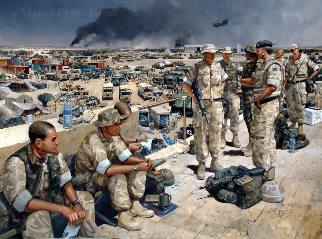Royal Logistic Corps. Iraq