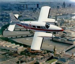 Piper Aztec (Capital Radio Flying Eye)
