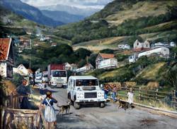 10 transport regt.Bosnia Bon Bon Corner.
