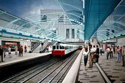 Hammersmith Underground rail station