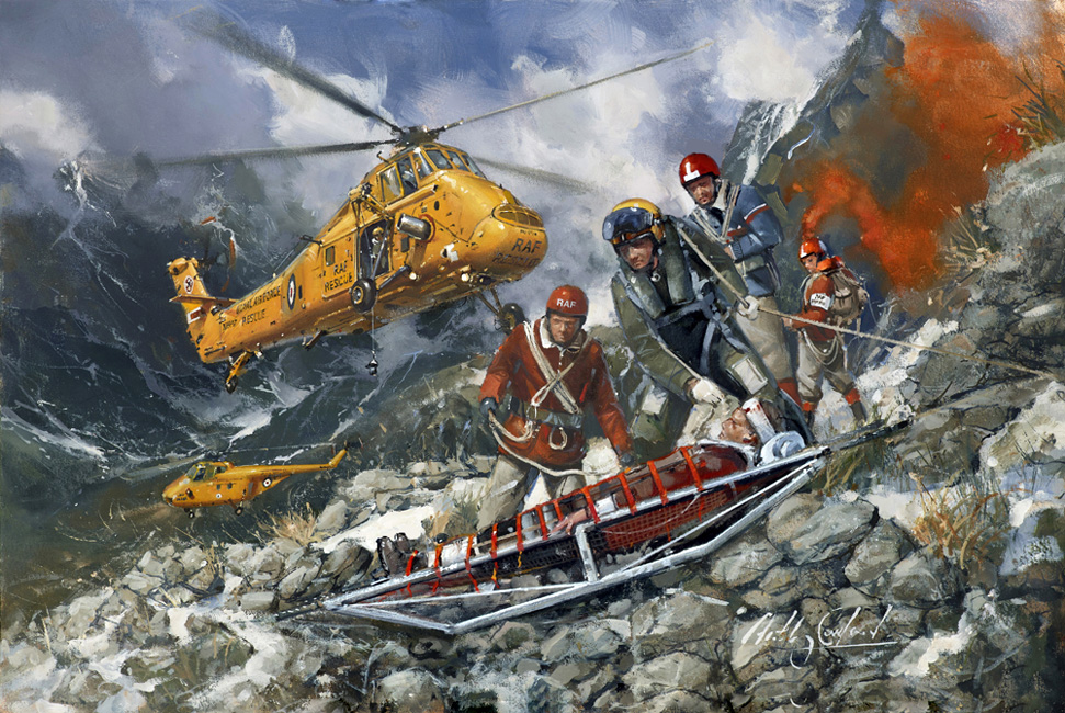 Westland Wessex. Mountain Rescue