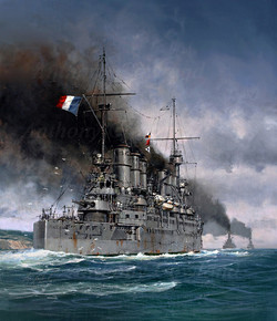 Ernest Renan. French Armoured Cruiser