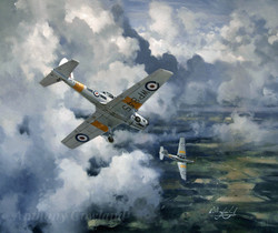 De Havilland Chipmunk. London UAS