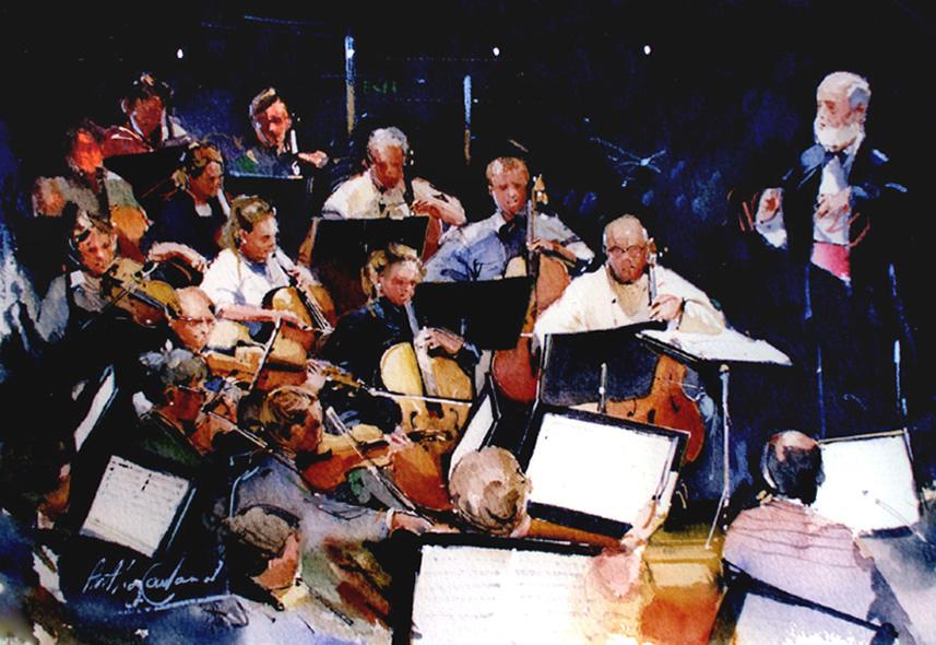 Orchestra sketch