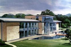 Office building. Surrey
