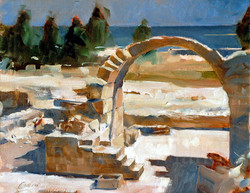 Cyprus, Paphos arch