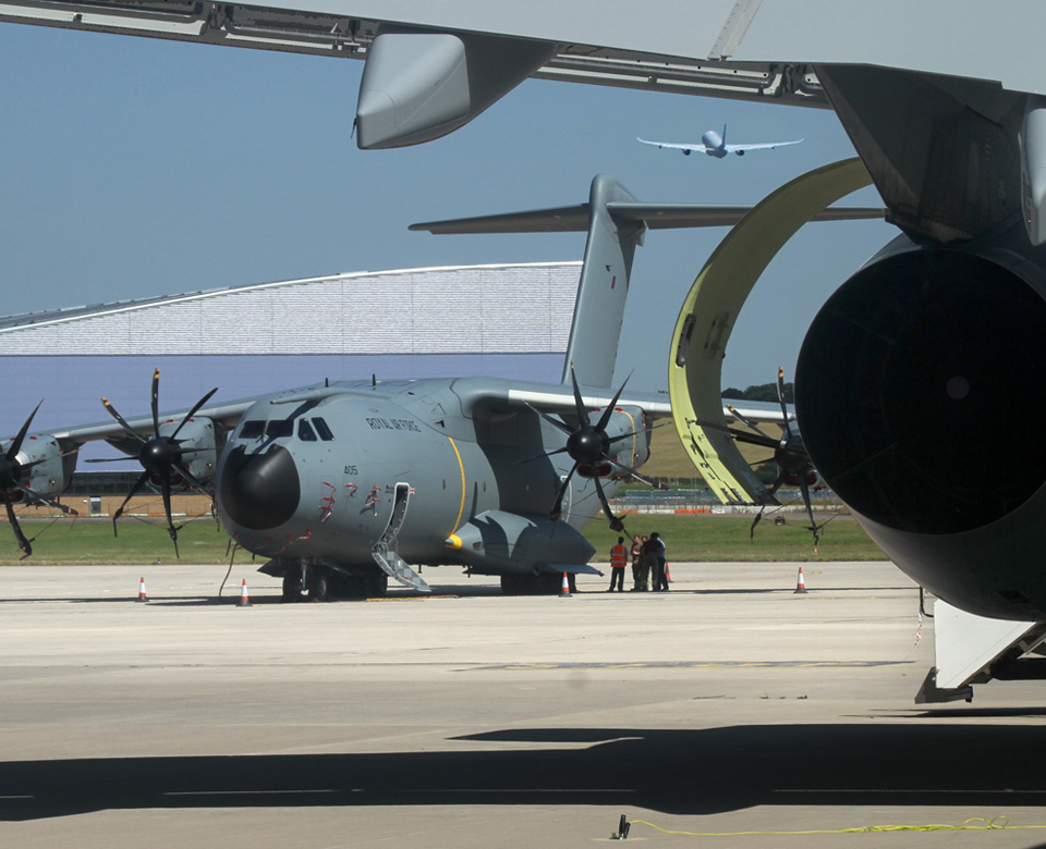 Atlas and Voyager at Brize Norton