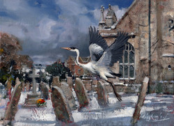 Flight of the Heron. Wiltshire