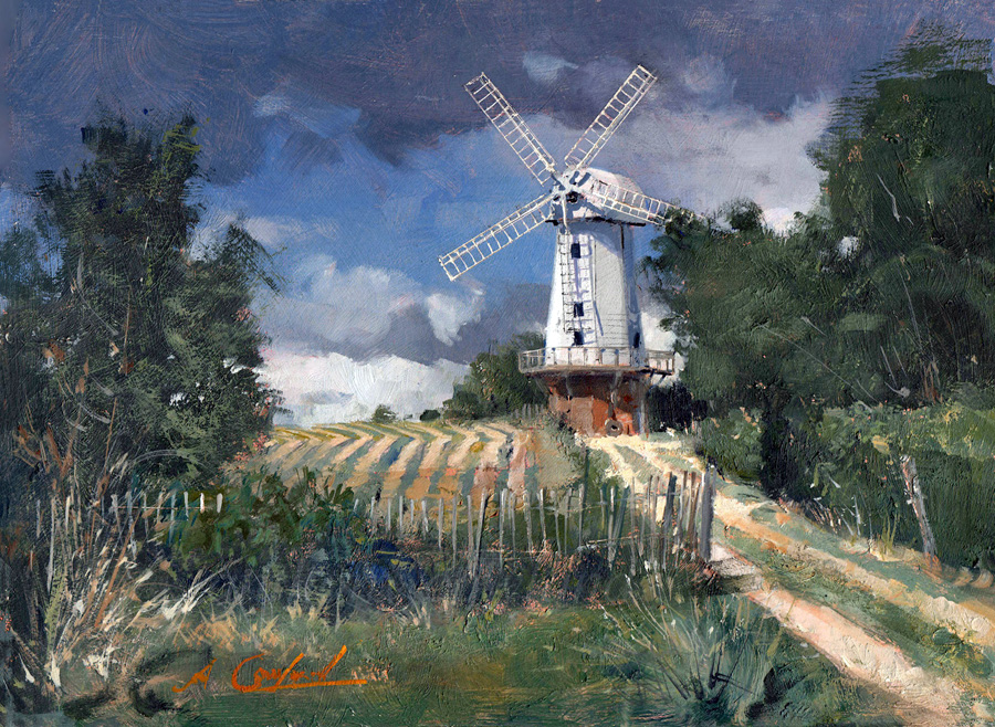 Sandhurst Windmill in Kent