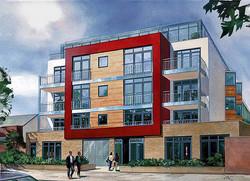 Residential development Bermondsey