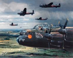 Avro Lancaster. The Seven Dwarfs