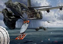 Lockheed Hercules 47AD with SBS