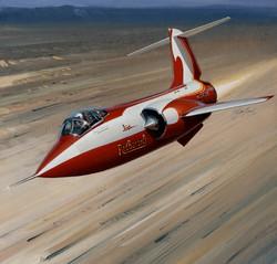 Lockheed Starfighter. The Red Baron