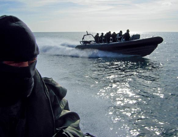 Special Boat Service. English Channel