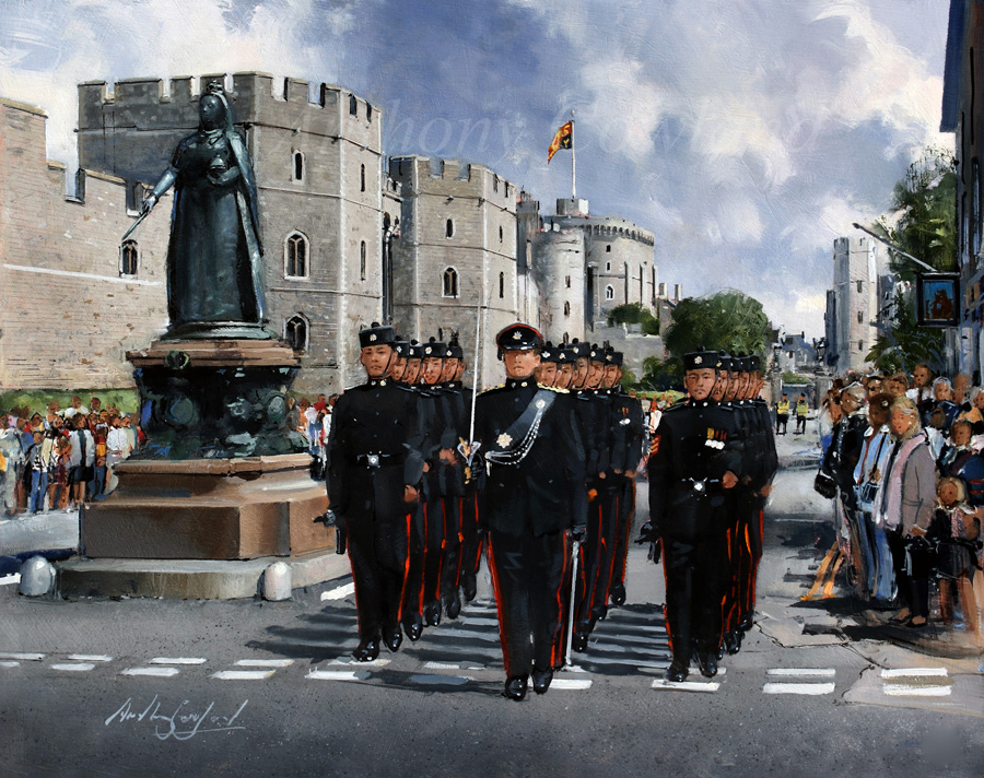 Windsor Castle Public Duties. QOGLR