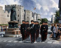 Windsor Castle Public Duties. QOGLR