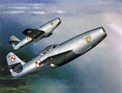 Yak-23 Polish Air Force