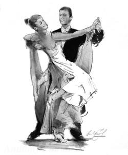 Dance. Ballroom03(charcoal)