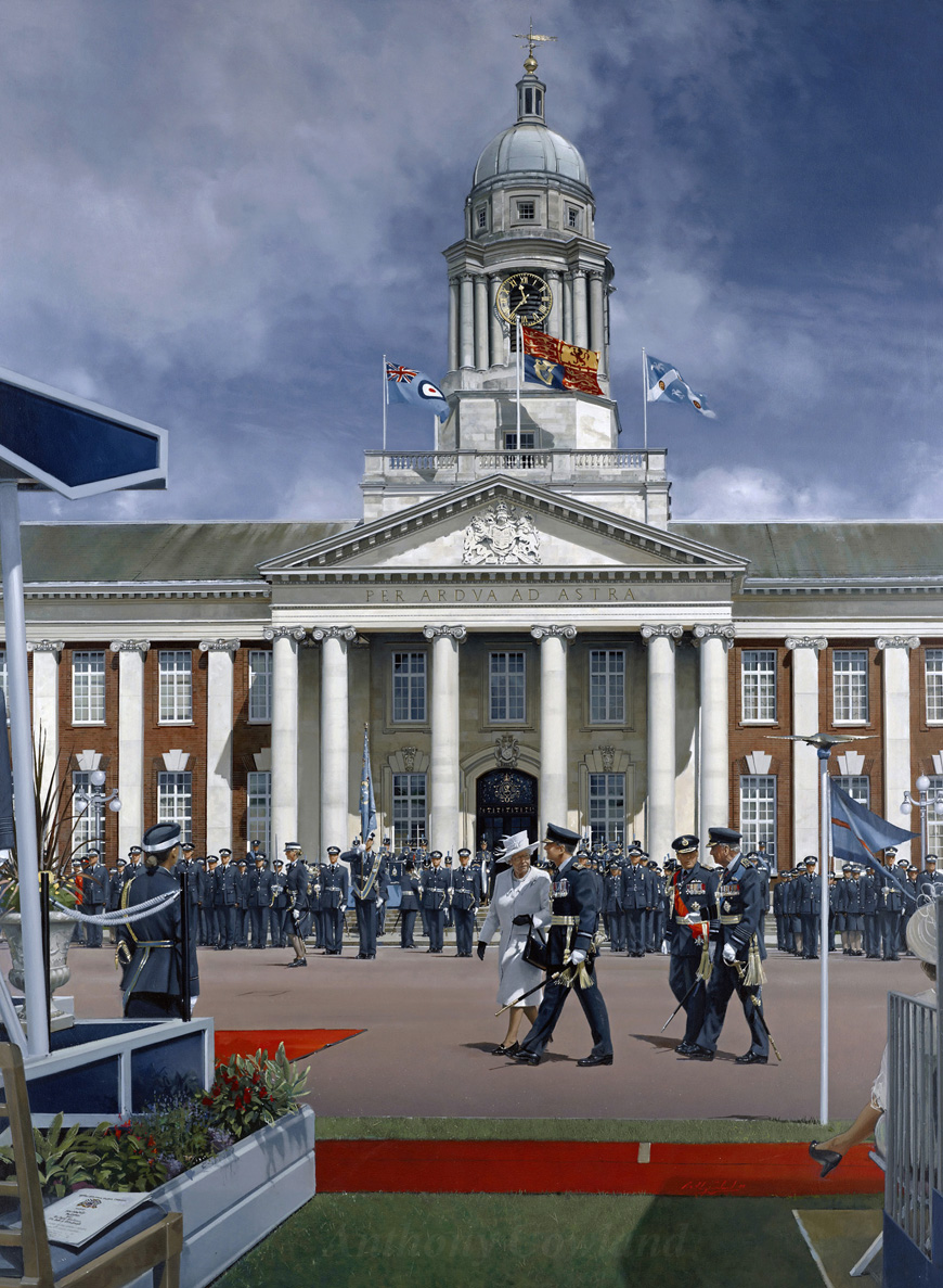RAF College Cranwell Sovereign's Parade