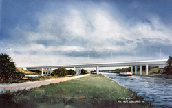 Canal viaduct UK