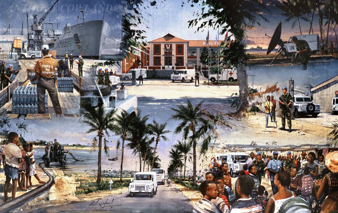 9 Supply Regt. Angola 1995