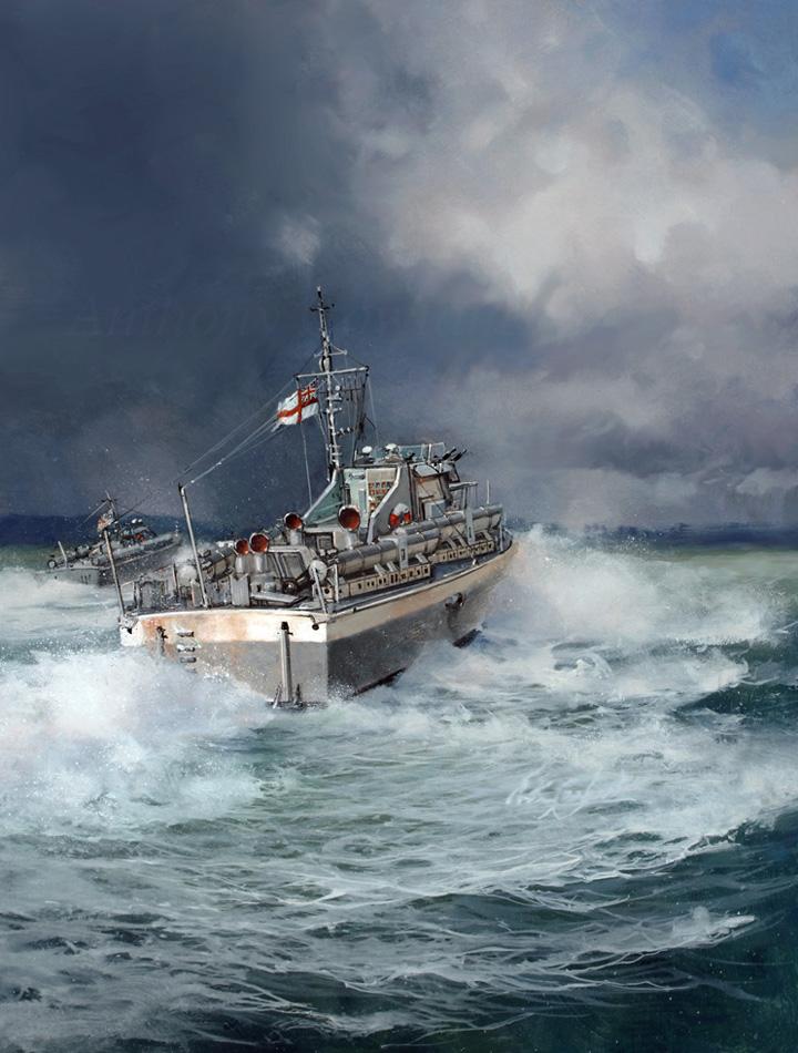 Vosper 73ft motor torpedo boat