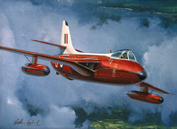 Hawker Hunter. Empire Test Pilots School