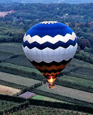 Balloon early morning over Kent