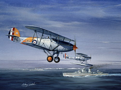 Hawker Ospey. HMS Achilles