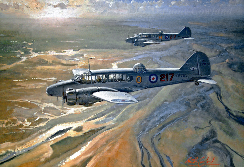 Avro Anson Mk1. 217 Squadron RAF