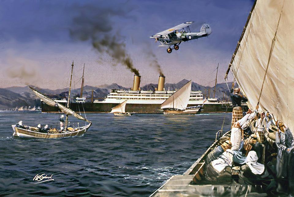 P&O Otranto. Aden