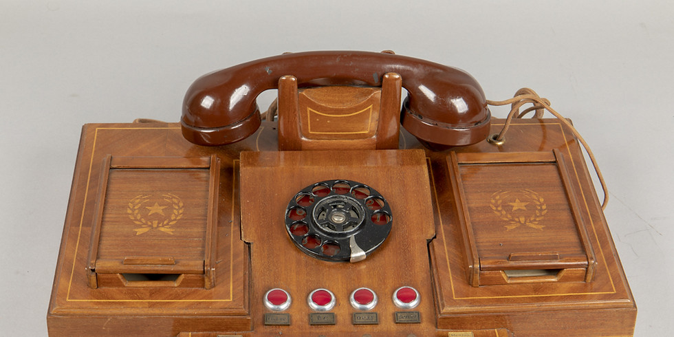 The History of Romania in One Object / Petru Groza's Desk Phone