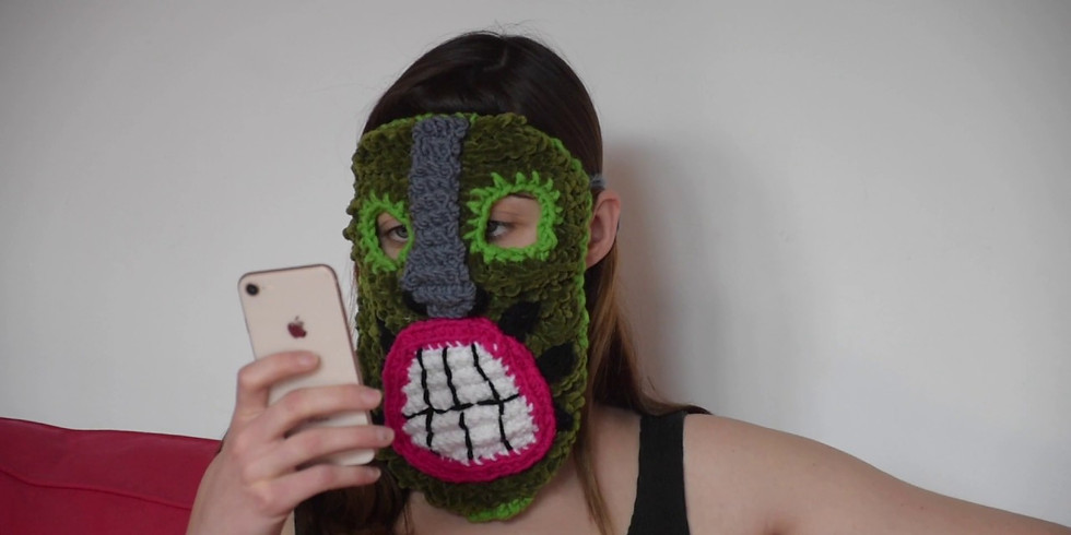 Art Fridays: Megan Dominescu with and without Her Masks