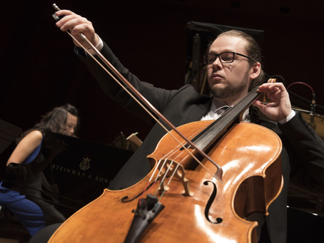 Cellist Mihai Marica Plays Bach at the Enescu Soirees