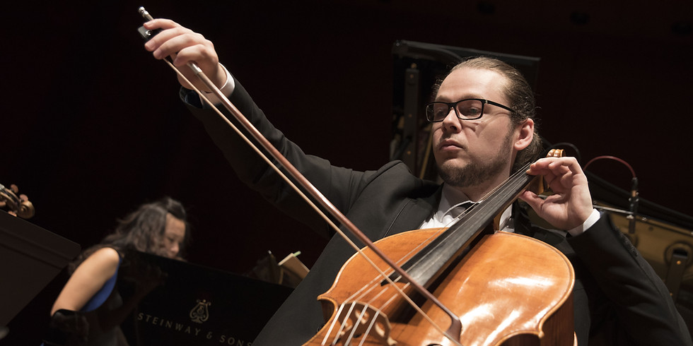 Cellist Mihai Marica Plays Bach at the Enescu Soirees