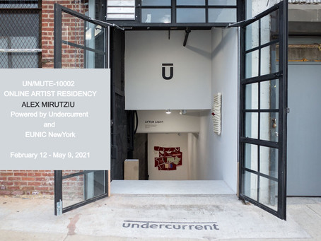 UN/MUTE-10002 | Online Artist Residency |  Featuring ALEX MIRUTZIU and SIDNEY SHAVERS as Team/Branch