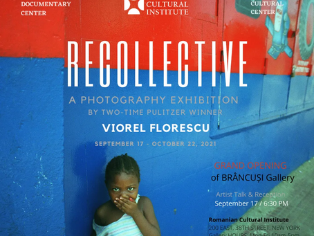 RECOLLECTIVE by Pulitzer Prize Winner Viorel Florescu Opens RCI's New Brâncuși Gallery