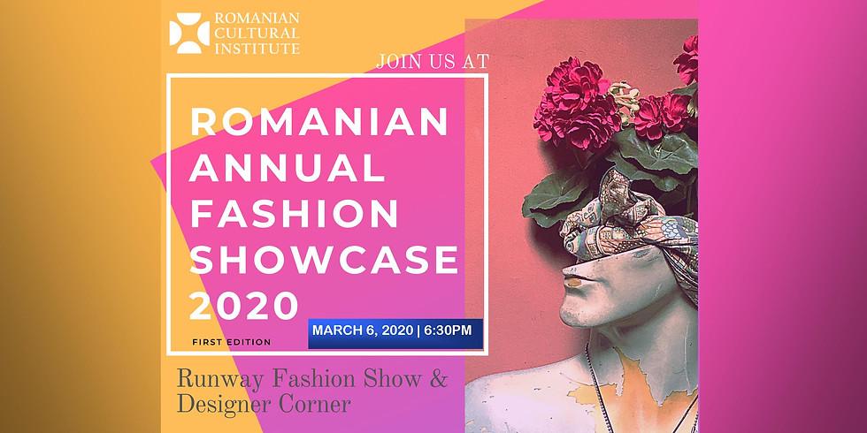 Romanian Annual Fashion Showcase 2020