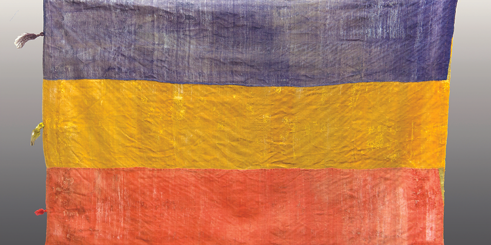 The History of Romania in One Object / The Flag of Lupșa