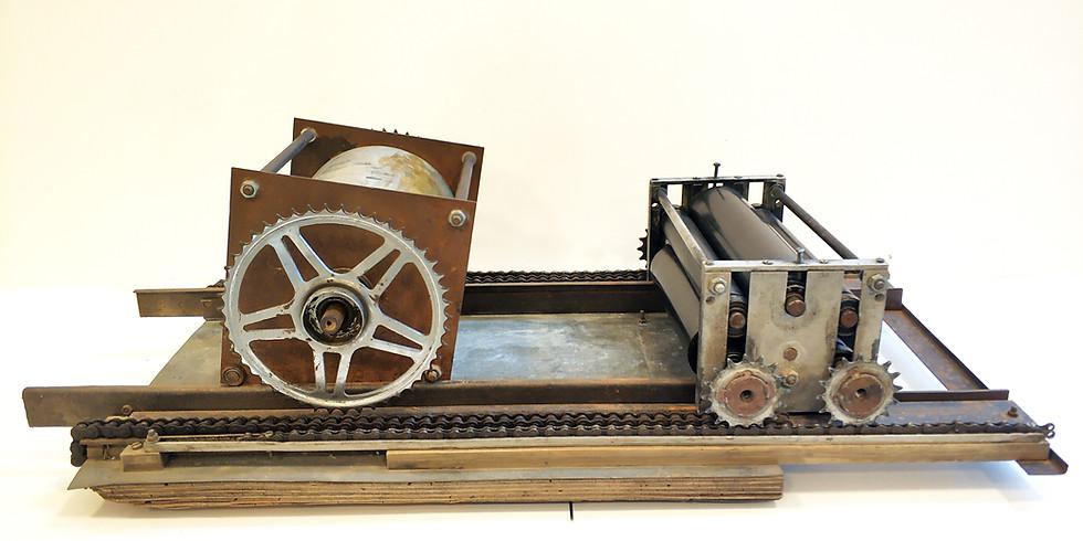 Valentin Hurduc's Clandestine Printing Machine