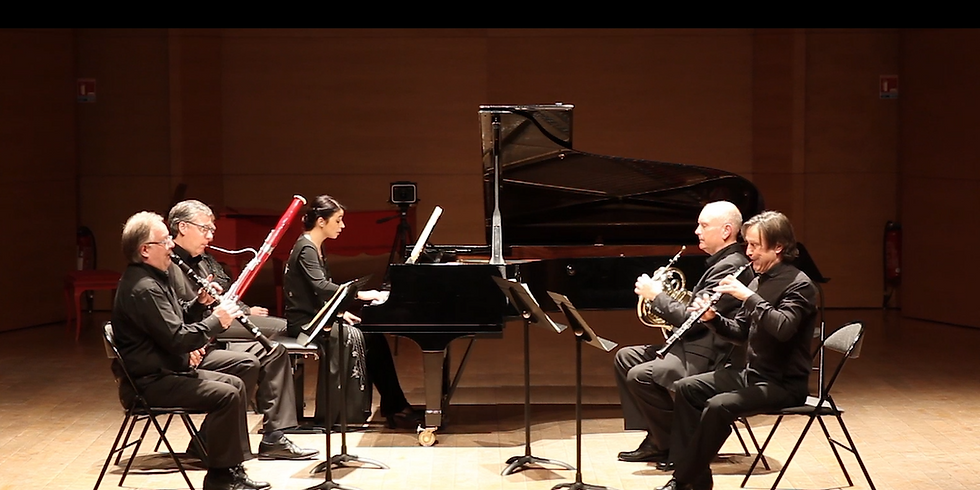 Exquisite Mara Dobresco and the Monnaie Wind Quintet at the Enescu Soirees