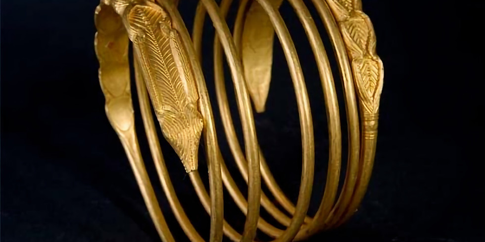 The History of Romania in One Object / The Dacian Gold Bracelets