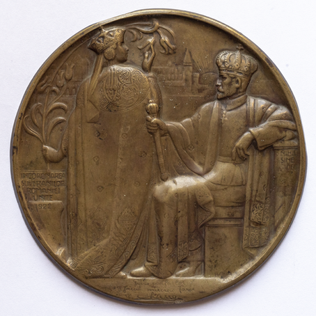 The Great Medal of the 1922 Coronation  / The History of Romania in One Object